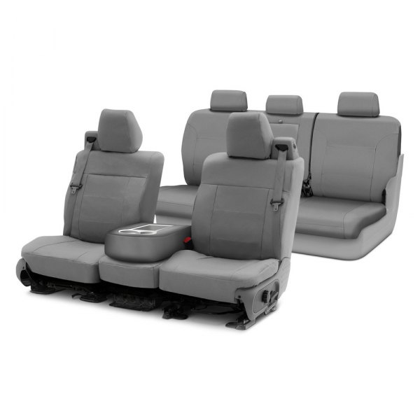 Image may not reflect your exact vehicle! Coverking® - Polycotton Drill Custom Seat Covers Two Rows