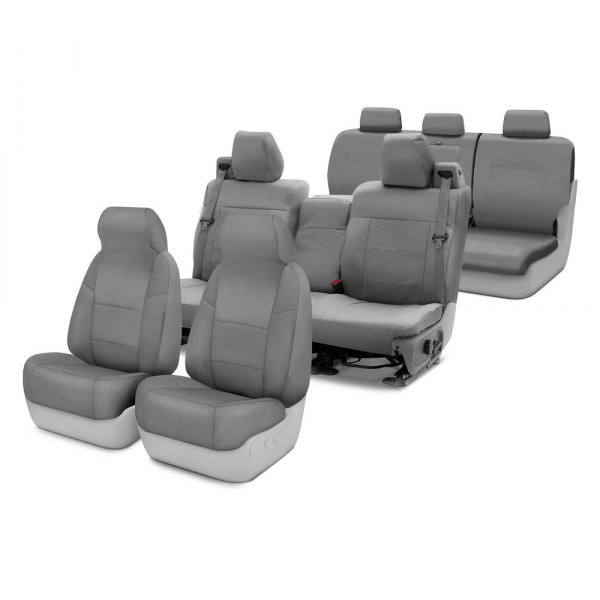 Coverking® - Polycotton Drill Custom Seat Covers Two Rows