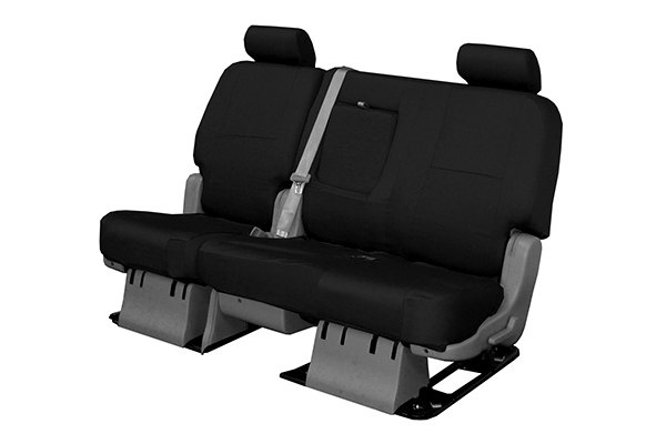 Coverking® - 2nd Row Poly Cotton Custom Black Seat Covers