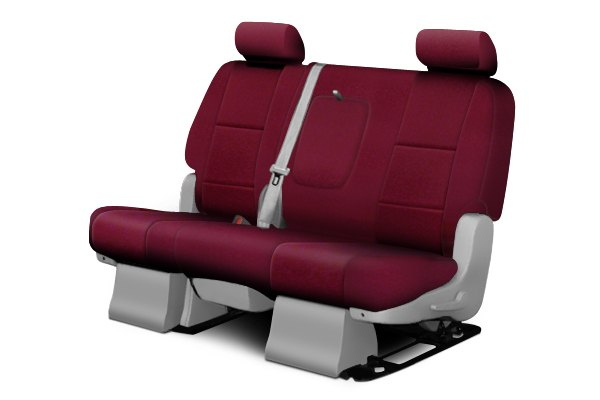 Coverking® - 2nd Row Poly Cotton Custom Wine Seat Covers