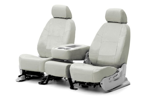 Coverking® - Poly Cotton Custom Light Gray Seat Covers