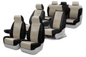 Coverking® - Leatherette Custom Seat Covers Two Rows