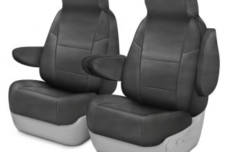 Coverking® CSCRH2NS9879 - Rhinohide 1st Row Custom Steel Gray Seat Covers