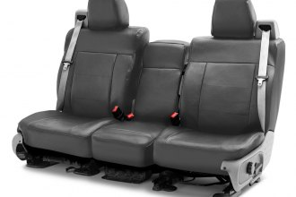 Coverking® CSCRH2NS9880 - Rhinohide 2nd Row Custom Steel Gray Seat Covers