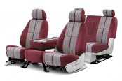 Coverking® - Saddleblanket Custom Wine Seat Covers