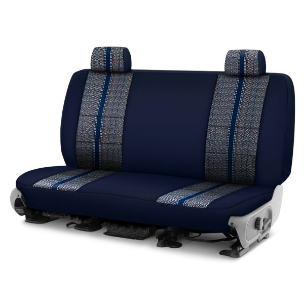 Coverking® - Saddleblanket 2nd Row Dark Blue Custom Seat Cover
