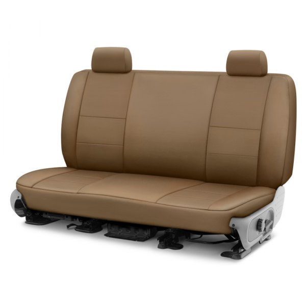 Image may not reflect your exact vehicle! Coverking® - Cordura Ballistic 2nd Row Tan Custom Seat Cover