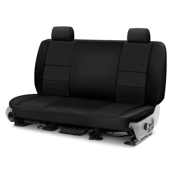 Image may not reflect your exact vehicle! Coverking® - Neosupreme 2nd Row Black Custom Seat Cover