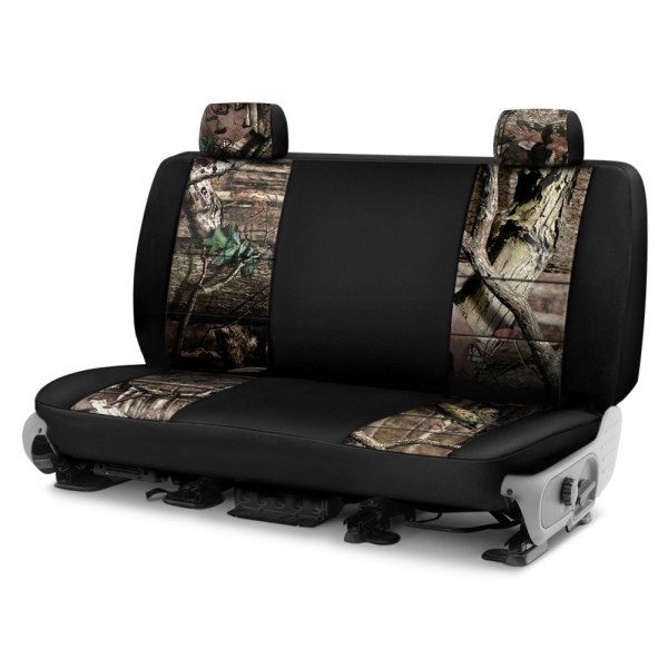 Coverking® - Mossy Oak™ 2nd Row Two-Tone Break Up Infinity Custom Seat Covers