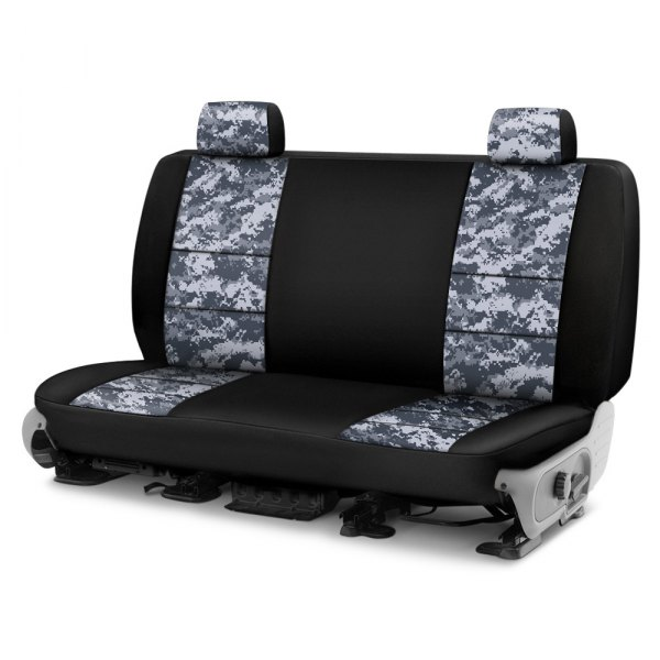 Coverking® - Digital 2nd Row Two-Tone Urban Custom Seat Covers