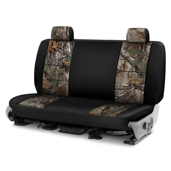 Coverking® - Realtree™ 3rd Row Two-Tone Xtra Custom Seat Covers