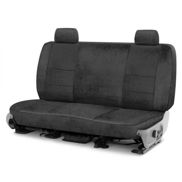 Coverking® - Velour 2nd Row Charcoal Custom Seat Cover