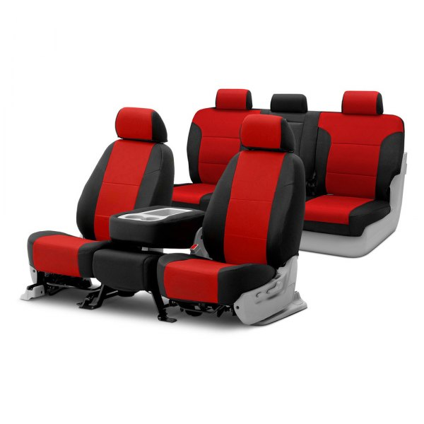 Coverking® - Spacer Mesh Custom Seat Covers Two Rows