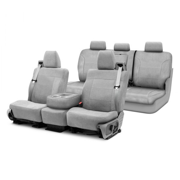 Coverking® - Suede Custom Seat Covers Two Rows