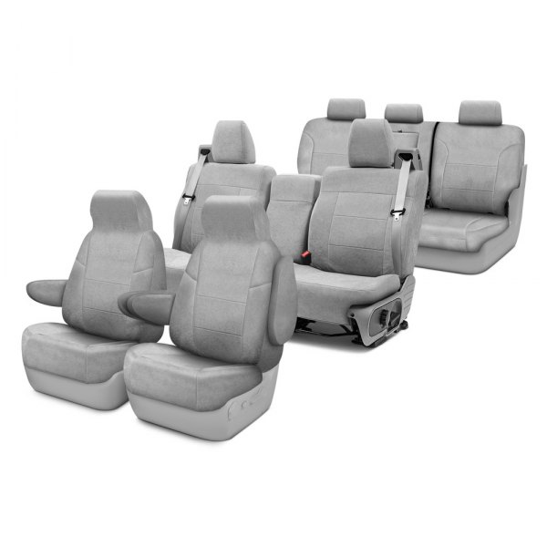 Coverking® - Suede Custom Seat Covers Three Rows