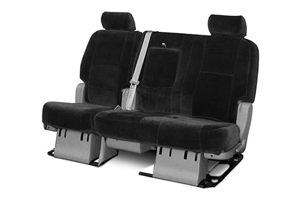 Coverking® - 2nd Row Suede Custom Charcoal Seat Covers