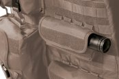 Coverking® - 1st Row Tactical Ballistic Custom Cashmere Seat Covers