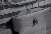 Coverking® - 1st Row Tactical Ballistic Custom Charcoal Seat Covers