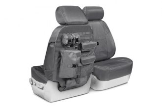 Coverking® CTSC1E4TT7562T - 1st Row Ballistic Tactical Custom Charcoal Seat Covers