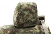 Coverking® - 1st Row Kryptek™ Tactical Custom Mandrake Seat Covers