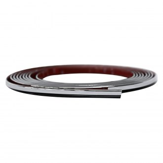 Cowles® - ProtektoTrim™ Universal Black/Chrome Fender Trim
