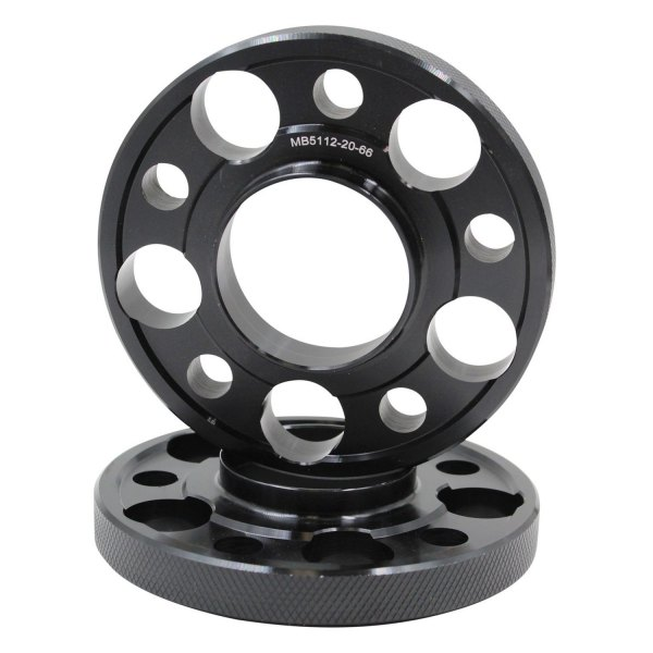 Coyote Accessories® MB5112-20-666 - Black Anodized 6061 ...