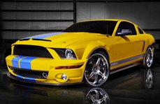CPX® - Front Foilers on Ford Mustang