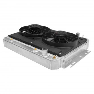 C&R Racing® - Aluminum Downflow Radiator Module