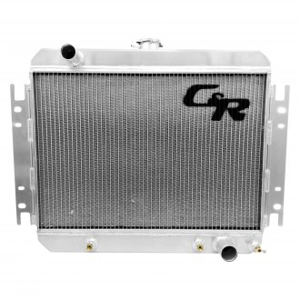 C&R Racing® - Aluminum Downflow Radiator