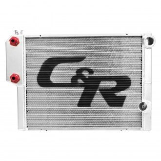 C&R Racing® - Two Row Heat Exchanger Radiator