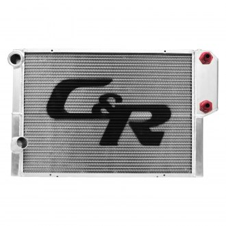 C&R Racing® - Ford Style Two Row Heat Exchanger Radiator