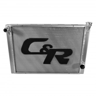 C&R Racing® - Lightweight Dirt Late Model Single Pass Radiator