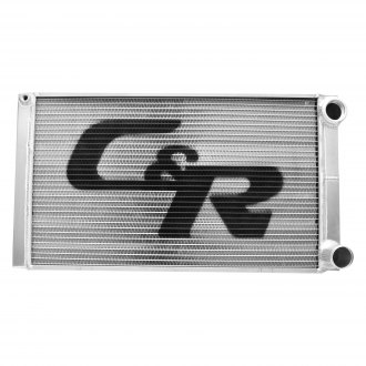 "C&R Racing® - 15"" x 27.5"" Modified Troyer Style Double Pass Radiator"