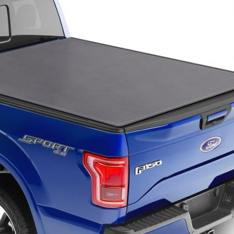 Craftec® - Hinged Soft Vinyl Tonneau Cover