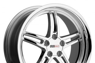 "CRAY® - SCORPION Chrome (17"" x 9"", +50 Offset, 5x120.65 Bolt Pattern, 100mm Hub)"