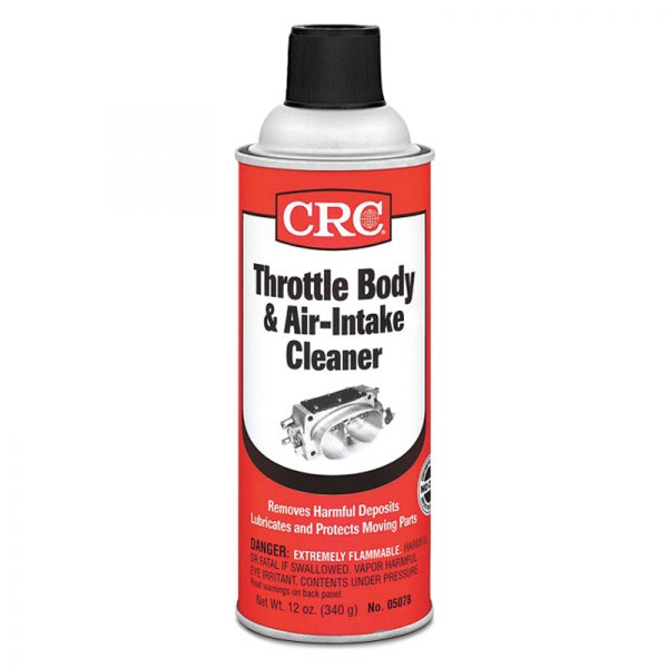 CRC® - Throttle Body Air-Intake Cleaner