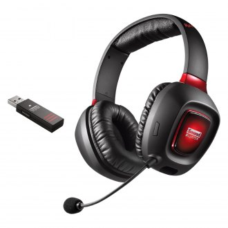 Creative® - Sound Blaster Tactic3D Rage V2.0 Gaming Headset with Customizable LED Lighting