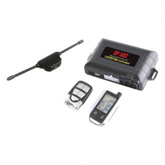 Crimestopper® - 2-Way LCD Paging Combo Alarm, Keyless Entry and Remote Start System with Rechargeable Remote