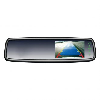 "Crimestopper® - OE Style Rear View Mirror with 4.3"" LCD Display"
