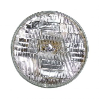 "Crown® - 7"" Round Chrome Factory Style Sealed Beam Headlight"
