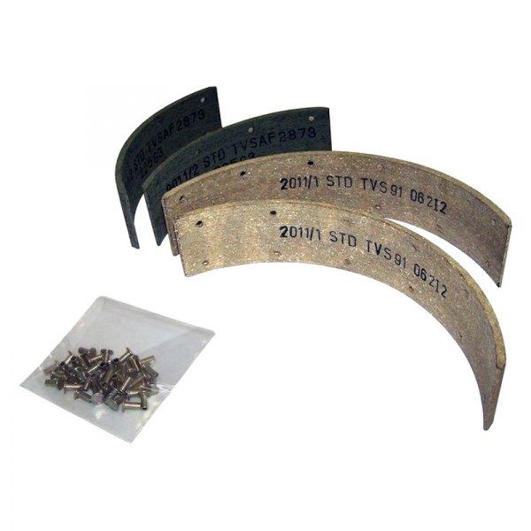 Drum Brake Lining : Crown  drum brake shoe lining set