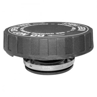 Crown® - Silver/Black Coolant Bottle Cap