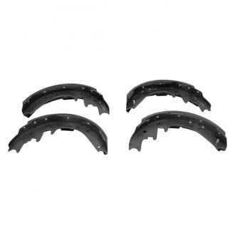 Crown® - Rear Drum Brake Shoe and Lining Kit