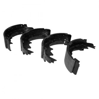 Crown® - Rear Drum Brake Shoe and Lining Set