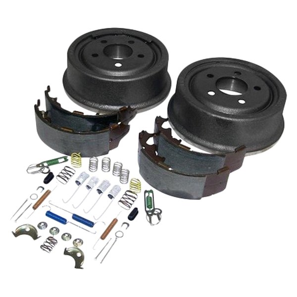Crown jeep cherokee 2000 rear drum brake service kit for Crown motors service center