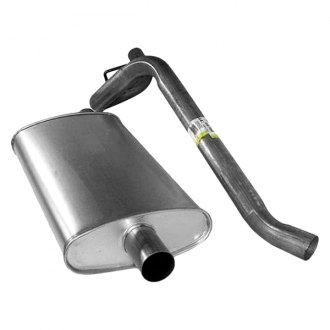 Crown® - Rear Inner Exhaust Muffler and Tailpipe Kit