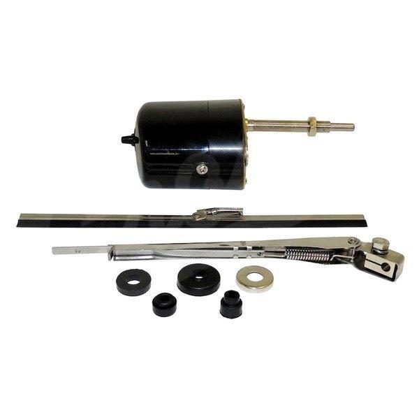 Crown 6v windshield wiper motor kit for Windshield wiper motor kit