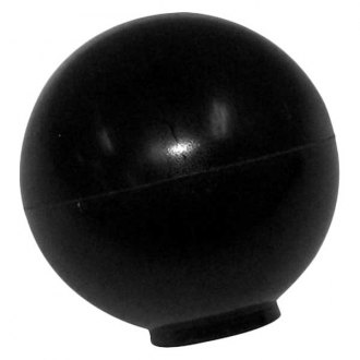 Crown® - Round Style Black Gear Shift Knob