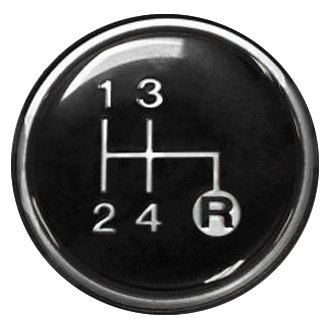 Crown® - Manual Trans Shift Knob Emblem