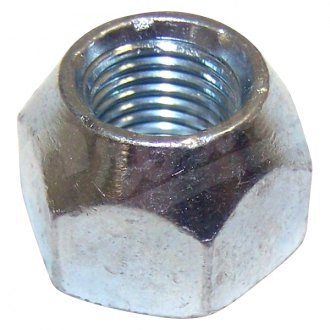 Crown® - Silver Cone Seat Acorn Open End Lug Nut